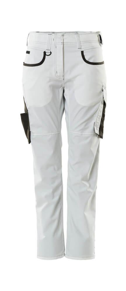 18678-230-0618 Housut - valkoinen/tumma antrasiitti