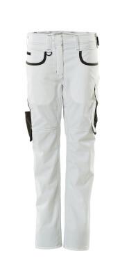 18688-230-0618 Housut - valkoinen/tumma antrasiitti