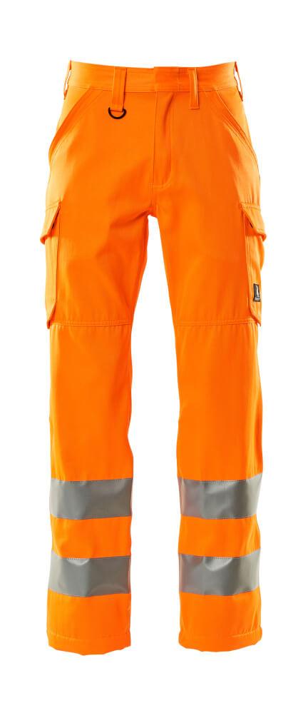 18879-860-14 Housut, reisitaskuilla - hi-vis oranssi