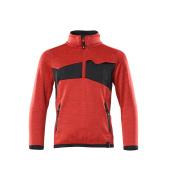 18903-316-20209 Fleecepusero lapsille - punainen/musta