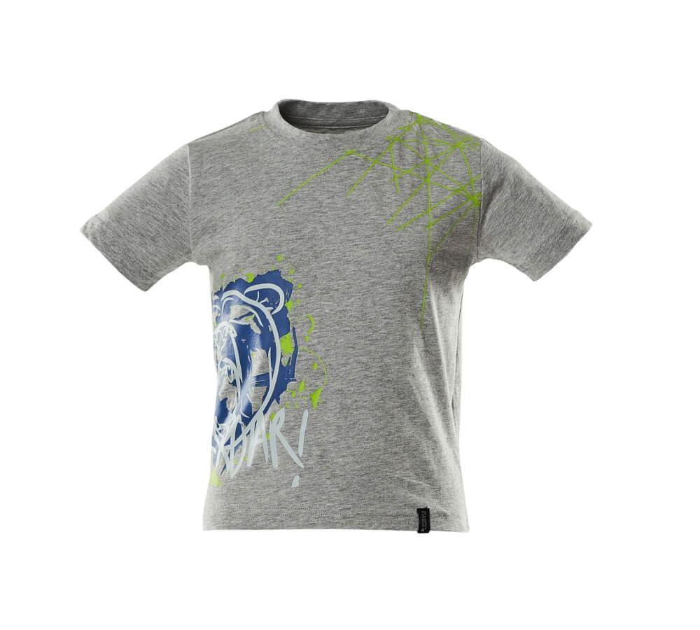 18982-965-08 Lasten T-paidat - meleerattu harmaa