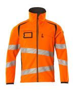 19002-143-1418 Softshell-takki - hi-vis oranssi/tumma antrasiitti