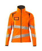 19012-143-1418 Softshell-takki - hi-vis oranssi/tumma antrasiitti