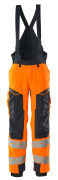 19090-449-14010 Talvihousut - hi-vis oranssi/tumma laivastonsininen