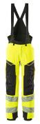 19090-449-1709 Talvihousut - hi-vis keltainen/musta