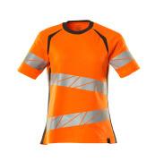19092-771-1418 T-Paita - hi-vis oranssi/tumma antrasiitti