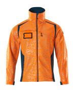 19202-291-1444 Softshell-takki - hi-vis oranssi/tumma petrooli