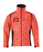 19202-291-22210 Softshell-takki - hi-vis punainen/syvä tummansininen