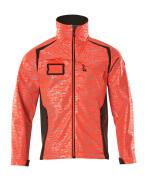 19202-291-22218 Softshell-takki - hi-vis punainen/tumma antrasiitti