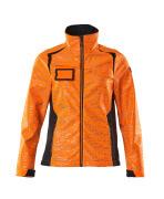 19212-291-14010 Softshell-takki - hi-vis oranssi/tumma laivastonsininen