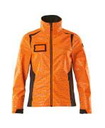 19212-291-1418 Softshell-takki - hi-vis oranssi/tumma antrasiitti