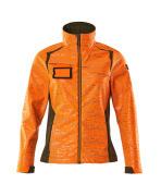 19212-291-1433 Softshell-takki - hi-vis oranssi/sammaleenvihreä