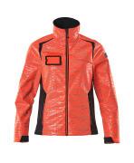 19212-291-22210 Softshell-takki - hi-vis punainen/syvä tummansininen