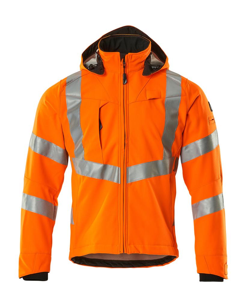 20502-246-14 Softshell-takki - hi-vis oranssi