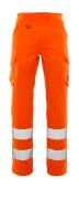20859-236-14 Housut, reisitaskuilla - hi-vis oranssi