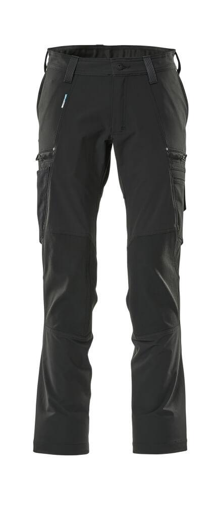 21679-311-09 Funktionaaliset housut - musta