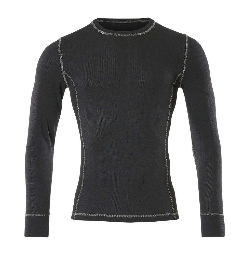 50027-871-09 Toiminnallinen aluspaita - musta
