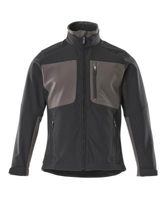 50057-824-0918 Softshell-takki - musta/tumma antrasiitti