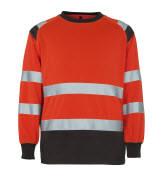 50110-854-A49 Swetari - hi-vis punainen/tumma antrasiitti