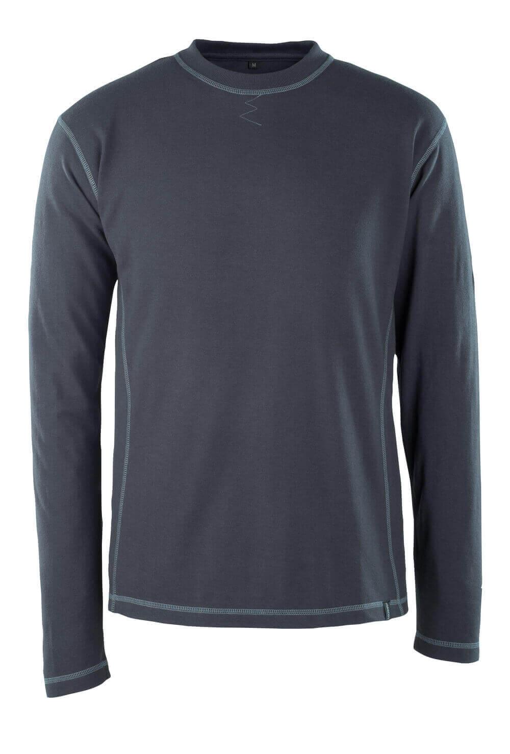 50119-927-010 T-Paita, pitkähihainen - syvä tummansininen