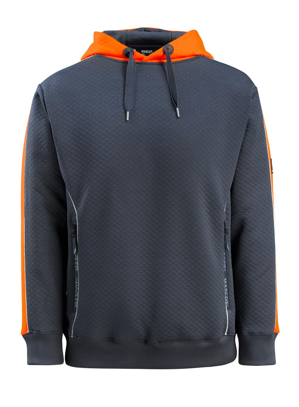 50124-932-01014 Huppari - tumma laivastonsininen/hi-vis oranssi