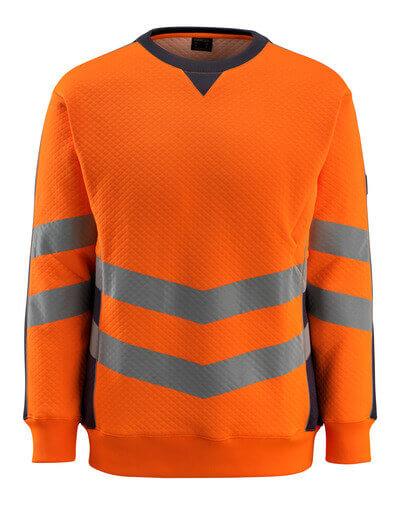 50126-932-14010 Swetari - hi-vis oranssi/tumma laivastonsininen