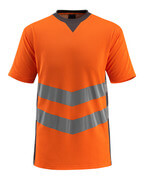 50127-933-1418 T-Paita - hi-vis oranssi/tumma antrasiitti