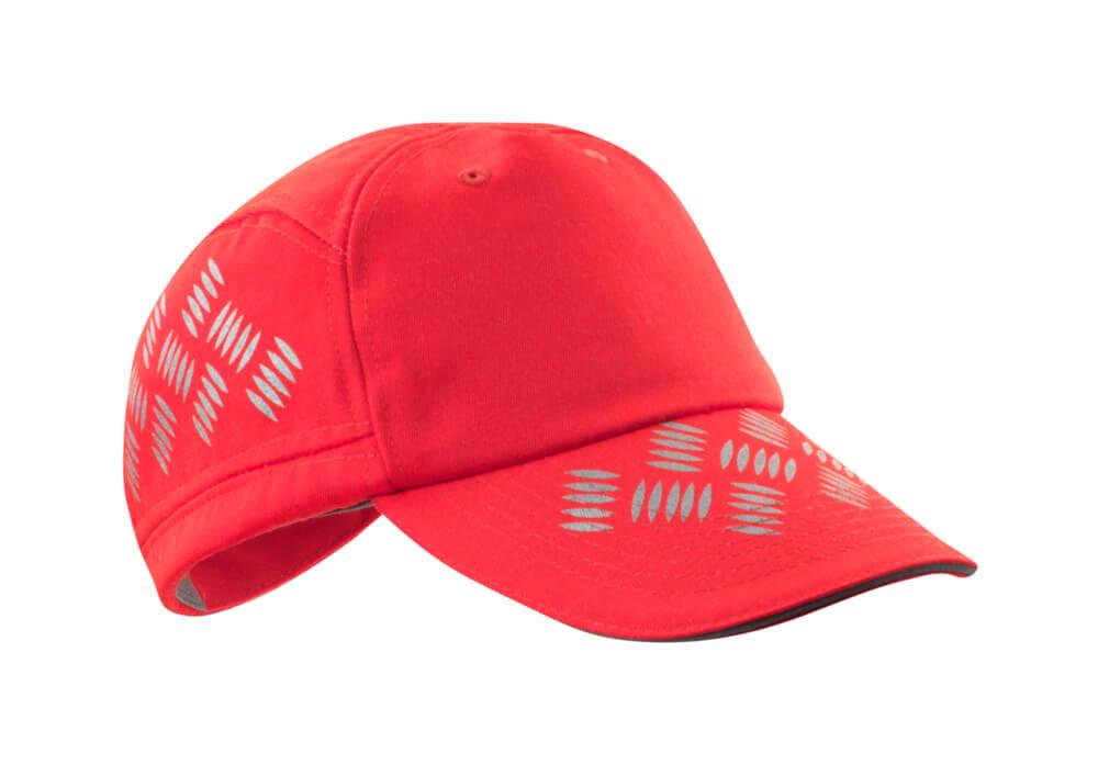 50143-860-222 Lippalakki - hi-vis punainen
