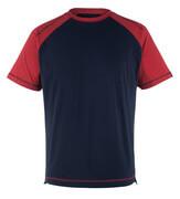 50301-250-12 T-Paita - tummansininen/punainen