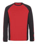 50568-959-0209 T-Paita, pitkähihainen - punainen/musta