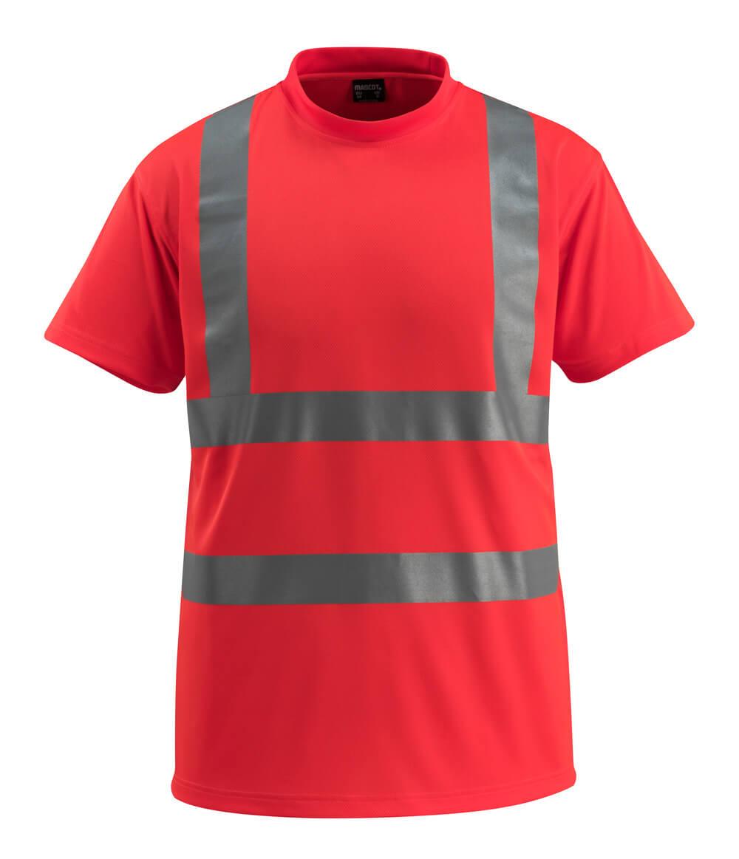 50592-976-222 T-Paita - hi-vis punainen