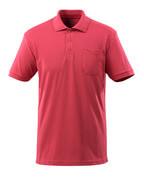 51586-968-96 Pikeepaita rintataskulla - vadelmanpunainen