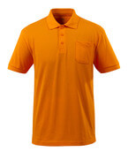 51586-968-98 Pikeepaita rintataskulla - Kirkas oranssi