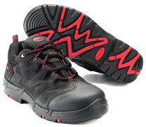 F0014-901-0902 Turvajalkineet - musta/punainen
