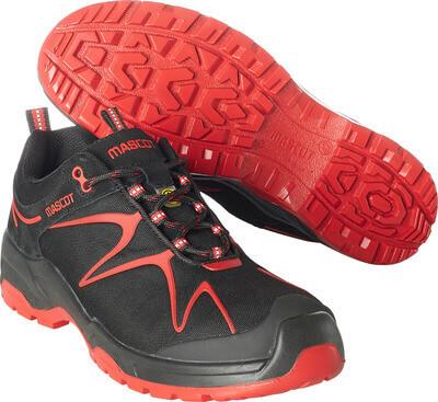 F0121-770-0902 Turvajalkineet - musta/punainen